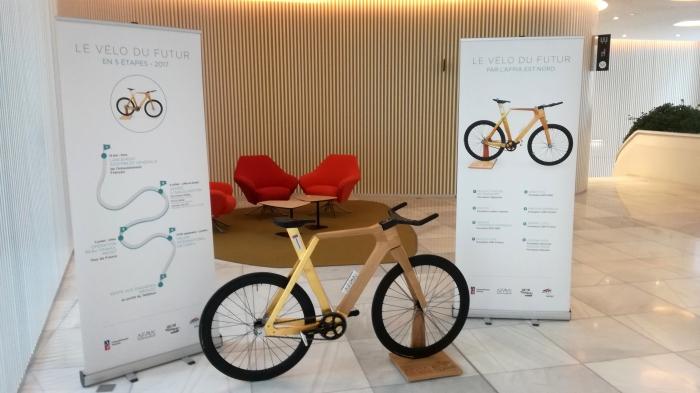 Réalisation d'un vélo en Bois à l'AFPIA Est-Nord: retour sur un évènement hors norme