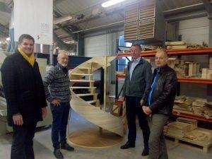 Campus Bois: nouveau partenariat Franco Allemand à l'AFPIA