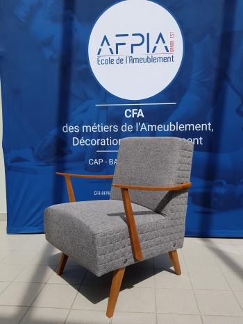 Fauteuil Design par Laure Thiroux - CAP Tapissier Siège