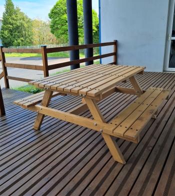 Table forestière - CAP Menuisier